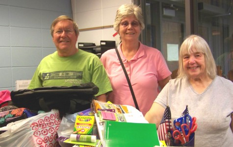 Community Donates School Supplies to South Shore