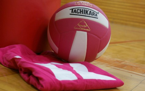 Volleyball Pink Out Night!!