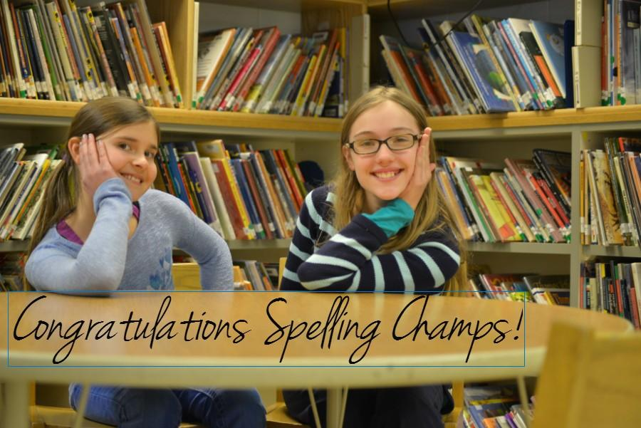 Leila+Tuura+%26+Quinn+Soltis+finish+1-2+in+the+South+Shore+District+Spelling+Bee.++Regional+Competition+is+February+03+in+Ashland%2C+WI.