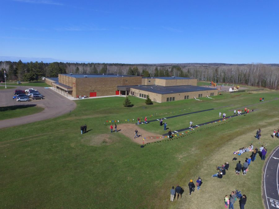 South+Shore+High+School+%40+home+middle+school+track+meet+on+April+29th.++View+from+the+drone.