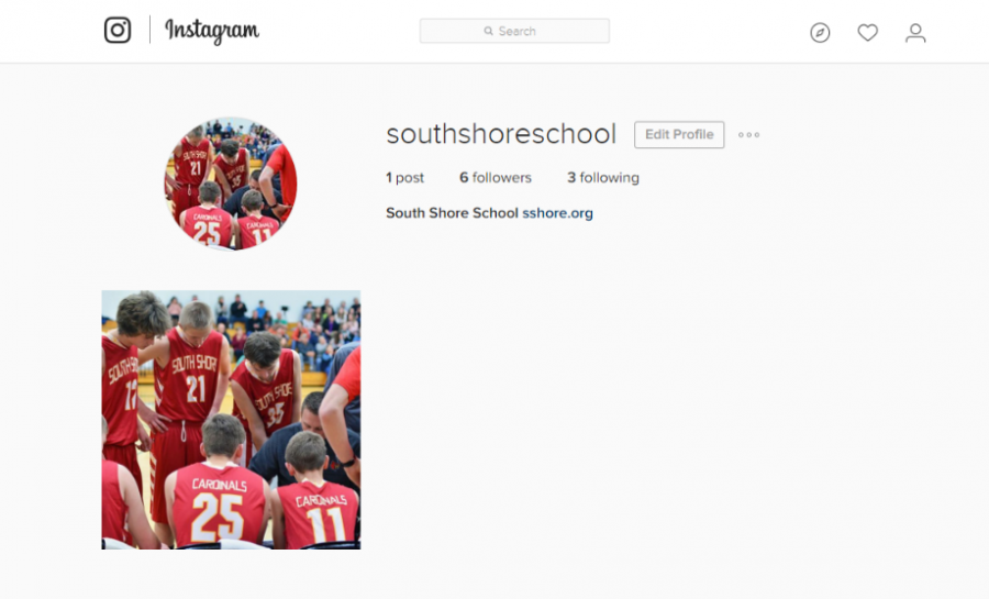 South+Shore+instagram+account%2C+with+its+first+post.+