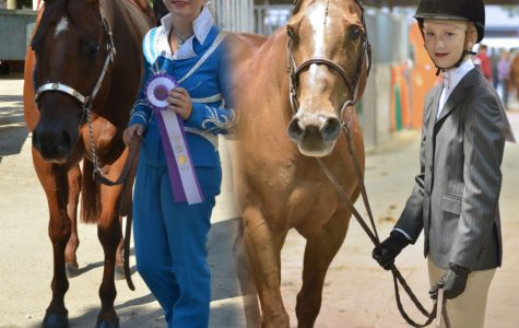 Myla Lahti and Abby Lahti Represent at 4H State Horse Expo
