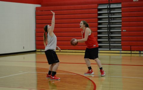 Girl's Find Success in Scrimmage