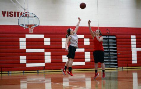 Girls' Basketball Begins with Hard Work
