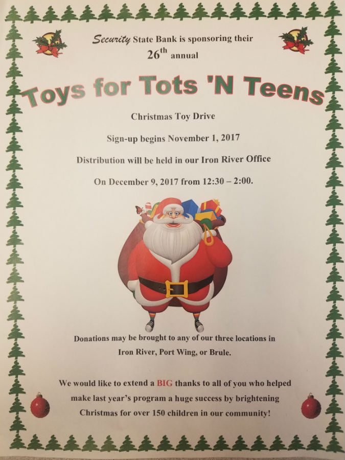 Toys for Tots 'N Teens