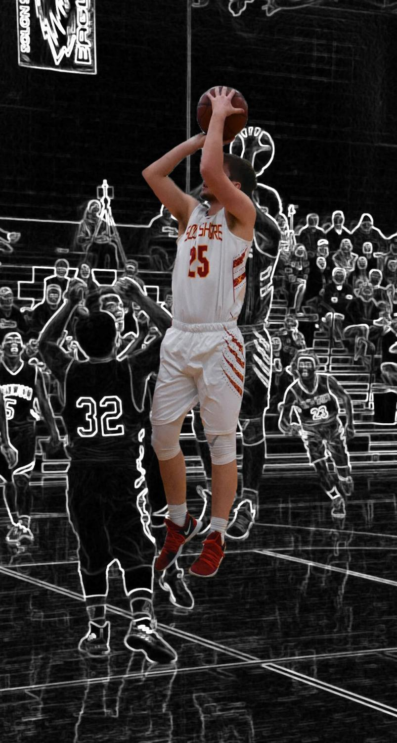 Connor Sorenson goes up to hit the jumper. Edited by: Rylee Nicoletti