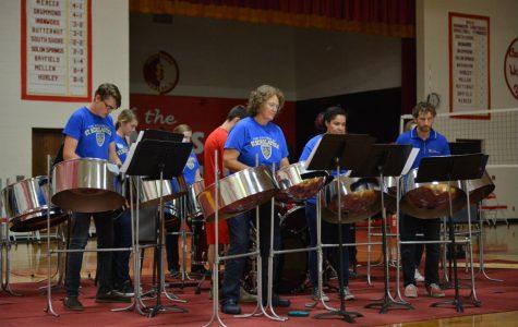 Saint Scholastica Steel Drums