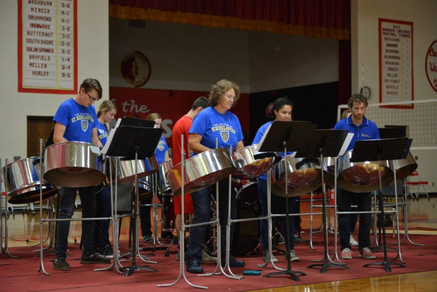 Saint Scholastica Steel Drums
