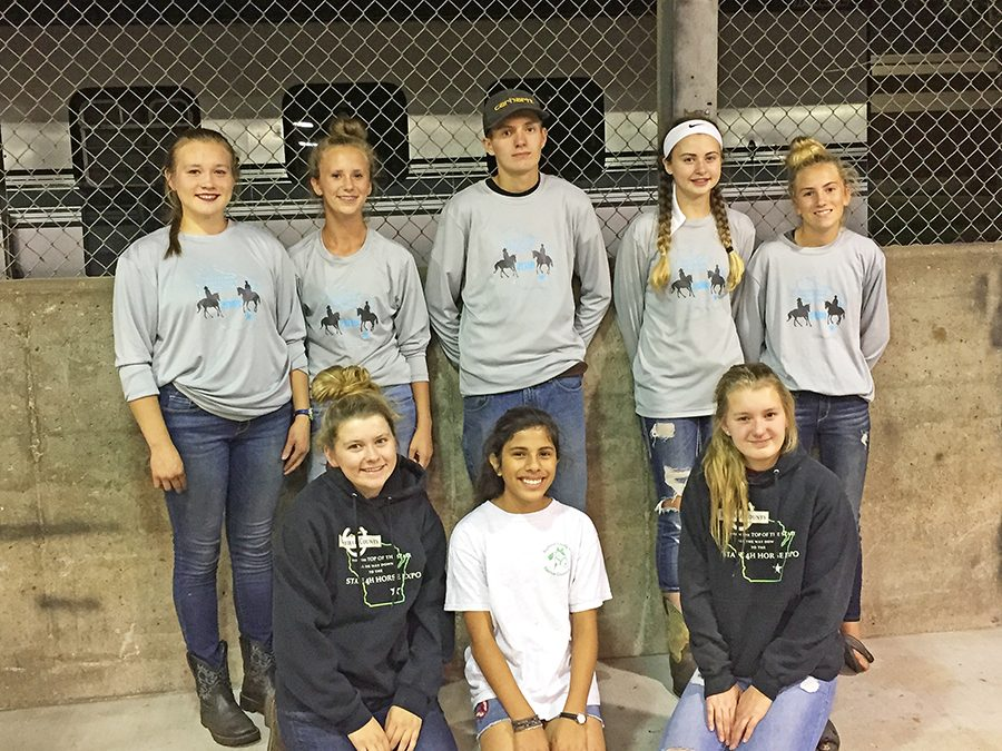 2018 Bayfield County State Team Back Row L to R: Talia Martens, Abigail Lahti, Bryce Tonn, Beau Reijo and Paige Lahti Front Row L to R: Myla Lahti, Avana Beeksma and Brinley Tonn