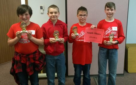 South Shore Battle of the Books Team Takes 2nd Place!