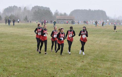 Left to Right: Lily Truchon, Emily Montgomery, Abby Lahti, Paige Lahti, Beau Reijo, Natalie Knaack