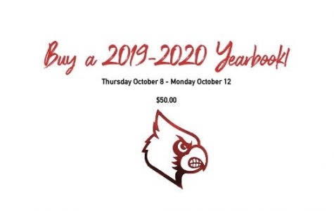 Last Call to Order 2019-2020 Yearbook!