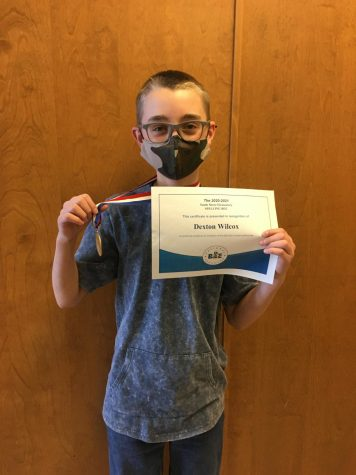 Dexton Wilcox Advances to State Spelling Bee Competition!
