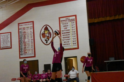 Girls Volleyball Battles Mellen